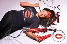 Liz Everett Glam  / New promo shots for my @CrownStyleGlam #hairandmakeup promo