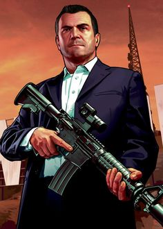Micheal was my favorite characters in gta v because he rich And he have a big house he have a bugatti with me