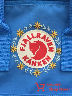 Newest Totally Free Embroidery Patches ideas Strategies Voor op ⬅️ Mochila Kanken, Embroidery Patches, Embroidery Art, Embroidery Patterns, Broderie Simple, Backpack Decoration, Diy Backpack, Kanken Backpack, Diy Clothes