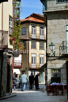 Historical centre of Guimarães, a UNESCO World Heritage Site, Portugal