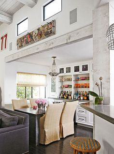 A Home bar Filled with Style   Brunch at Saks