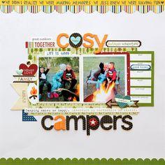 Cosy+Campers - Scrapbook.com