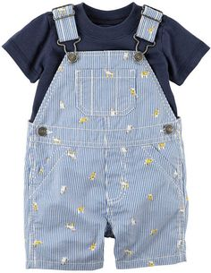 867530342d Carter s 2-pc. Shortall Set Baby Boys - JCPenney