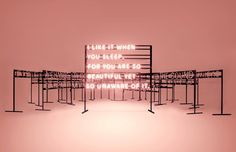 The 1975: Drake and Burgess-Johnson create Neon Signs for the Manchester band   Creative Boom