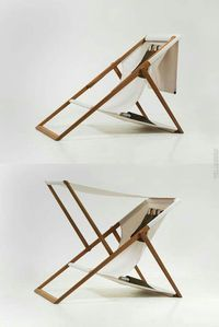 16 Clever Folding Chair Designs The folding chair is kind of favorite chair because it is a flexible chair that you move easily. It is different from another kind of chair, the folding chair comes with a unique design. Folding Furniture, Wood Furniture, Modern Furniture, Furniture Design, Outdoor Furniture, Beach Furniture, Furniture Stores, Minimalist Furniture, Folding Chairs