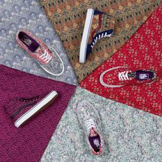 Vans per Liberty of London collezione Holiday 2013 | I Love Sneakers #sneakers #vans