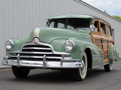 1947 Pontiac Streamliner for sale - Hemmings Motor News Woody Wagon, Chrysler Town And Country, Panel Truck, Best Classic Cars, Unique Cars, Cozy Cabin, Station Wagon, Car Manufacturers, Old Trucks