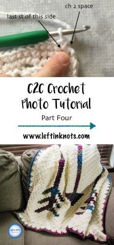 This photo tutorial will teach you the stitch using half double crochet. Learn how to add a SC and spike stitch border to your graphgan. This tutorial was created to support my Fallen Arrows Blanket CAL, a free crochet pattern available at Left in Knots Quick Crochet, Learn To Crochet, Double Crochet, Hand Crochet, Free Crochet, Crochet Ideas, Crochet Tutorials, Graph Crochet, Simple Crochet