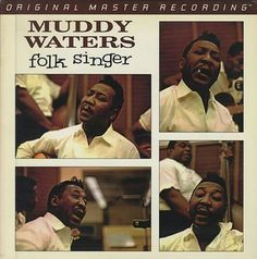 "#282. Muddy Waters ***  ""Folk Singer""  (1964)"