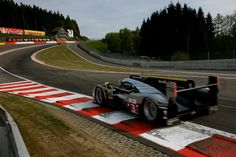 Audi R18, Attacking Eau Rouge at Spa, Belgium