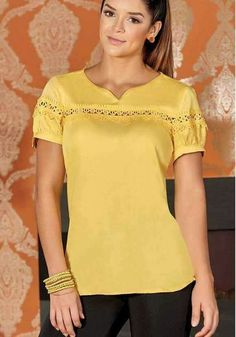210 Likes 2 Comments Dress Neck Designs, Blouse Designs, Casual Tops, Casual Wear, Hijab Fashion, Fashion Dresses, Sewing Blouses, Embroidery Fashion, Blouse Styles
