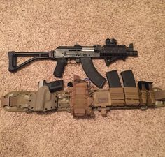 Zastava pap m92 sbr with Fns 40 and load out