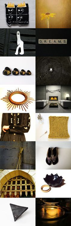 January Finds - Black Honey by Inese on Etsy--Pinned with TreasuryPin.com