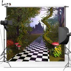 $8.37 (Buy here: https://alitems.com/g/1e8d114494ebda23ff8b16525dc3e8/?i=5&ulp=https%3A%2F%2Fwww.aliexpress.com%2Fitem%2FTree-Grid-For-Wedding-Children-Kids-Vinyl-or-Oxford-Photography-Background-photography-studio-backdrop-Photo-Props%2F32732910728.html ) Vinyl Backdrop Alice in Wonderland Castle Mushroom Forest Oxford Photography Background Photo studio Props F1754 for just $8.37