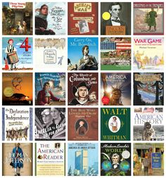 FAVORITE CC Cycle 3 American History Book List (with history, literature, speeches and poetry memory work, geography, and American artists and composers) Teaching American History, American History Lessons, History For Kids, Study History, Teaching History, Us History, History Books, History Timeline, Ancient History