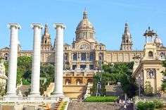National Museum in Placa De Espanya, Barcelona. Spain