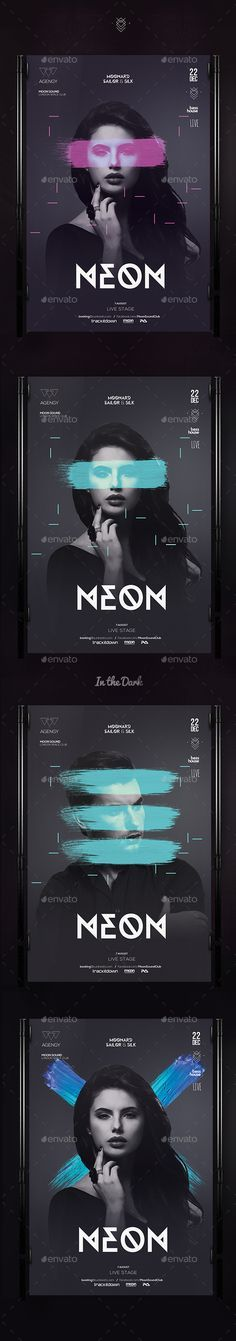 Club Flyer Template PSD #design Download: graphicriver.net/...