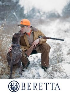 Nothing better than a man and his bird dog