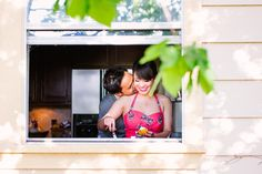 Austin Engagement Photographer 6 Michelle + Matt | Kitchen Engagement Session