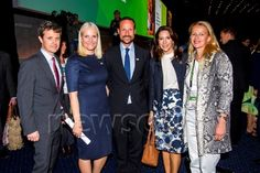 Crown Princess Frederik and Mary of Denmark, Crown Prince Haakon and Mette Marit of Norway with Princess Mabel of the Netherlands and PrincessBenedikte of Berleberg at the Women Deliver Global Conference May 2016