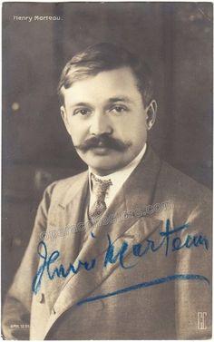 Marteau, Henri - Signed photo postcard
