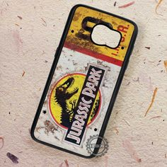 Jeep License Plate Jurassic Park - Samsung Galaxy S7 S6 S5 Note 7 Cases & Covers