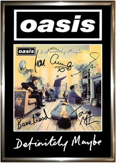 Muro Rock, Oasis Album, Rock Vintage, Oasis Band, Poster Wall, Poster Prints, Punk Poster, Rock Band Posters, Vintage Music Posters
