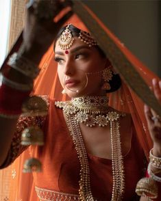 All Posts • Instagram Indian Bride Poses, Indian Bridal Photos, Indian Bridal Outfits, Bridal Dresses, Indian Makeup Looks, Self Portrait Poses, Bengali Bridal Makeup, Desi Bride, Bride Photography