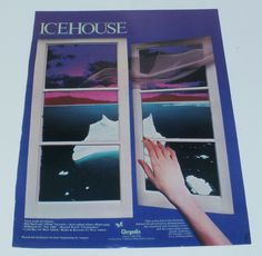 Icehouse Music Ad Chrysalis Billboard #1 Flashmaker Full Page Advert