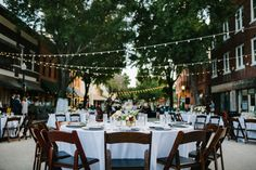 Romantic Downtown Lakeland Wedding in the middle of the street | Orlando Wedding Photographer