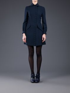 Ossie Clark Vintage Wool Dress - Amarcord Vintage Fashion - farfetch.com