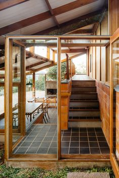 Image 24 of 56 from gallery of Half-Slope House / Denis Joelsons + Gabriela Baraúna Uchida. Photograph by Pedro Kok Interior Architecture, Interior And Exterior, Interior Design, D House, House Studio, My Dream Home, Future House, Sweet Home, New Homes