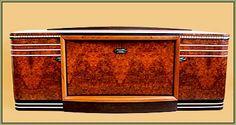 Carpathian Elm Burl Art Deco