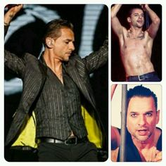 Happy Birthday to the most beautiful, talented, sweet and sexy man. Long life to Our Personal Jesus!! We all love you Dave Gahan<3 <3