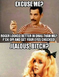 Actually, Roger did look really sassy in the clip.