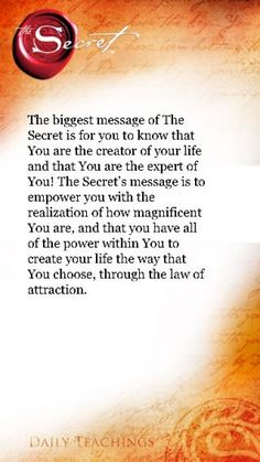 The Secret to Attract What you Want - Are You Finding It Difficult Trying To Master The Law Of Attraction?Take this 30 second test and identify exactly what is holding you back from effectively applying the Law of Attraction in your life. Secret Law Of Attraction, Law Of Attraction Quotes, Law Of Attraction Affirmations, Negative Thoughts, Positive Thoughts, Positive Things, Positive Outlook, The Secret, Secret Book