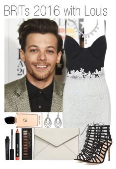 """577 • BRITs 2016 with Louis"" by queenxxbee ❤ liked on Polyvore featuring Rebecca Minkoff, Gianvito Rossi, Bobbi Brown Cosmetics, Forever 21, Smashbox, David Yurman, Giorgio Armani, OneDirection, louistomlinson and Brits"