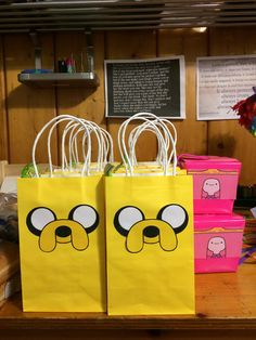 Adventure Time Party Favors
