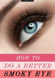 4 Makeup Artist Tricks for Doing a Better Smoky Eye
