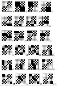 Resultado de imagen de deflected double weave patterns