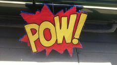 POW! Pinata Comic book party