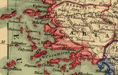 Samos, Uppsala, Marmaris, Ancient Names, Old Greek, Ancient Civilizations, Bohemian Rug, Map, History