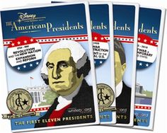 """I want to get this series. (""""Disney American Presidents Series"""")"""