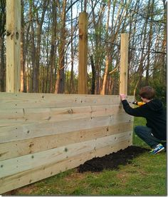 Build a backyard practice wall!