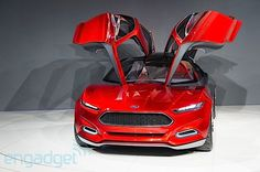 Ford Evos concept.  that's a Ford??!   You bet your boots, it's a Ford!!!