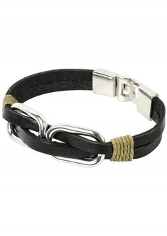 Circle Charm Beaded Bracelet