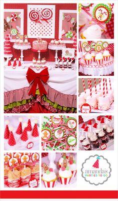 Ideas para organizar un cumpleaos en poca navidea Christmas