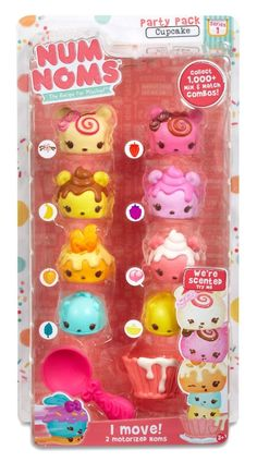 Num Noms Series 1 - Deluxe Multi-Pack 8-Pack - Cupcake Party Pack in Toys, Hobbies, Character Toys   eBay