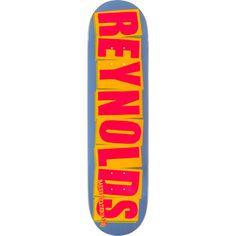 Brand new Baker Andrew Reynolds Logo Deck - now at Warehouse Skateboards! #skateboards #whskate