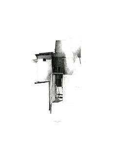 Drawing ARCHITECTURE | Arakelyan Ruben, YEREVAN | LIGHT | SHADOW, pencil,...